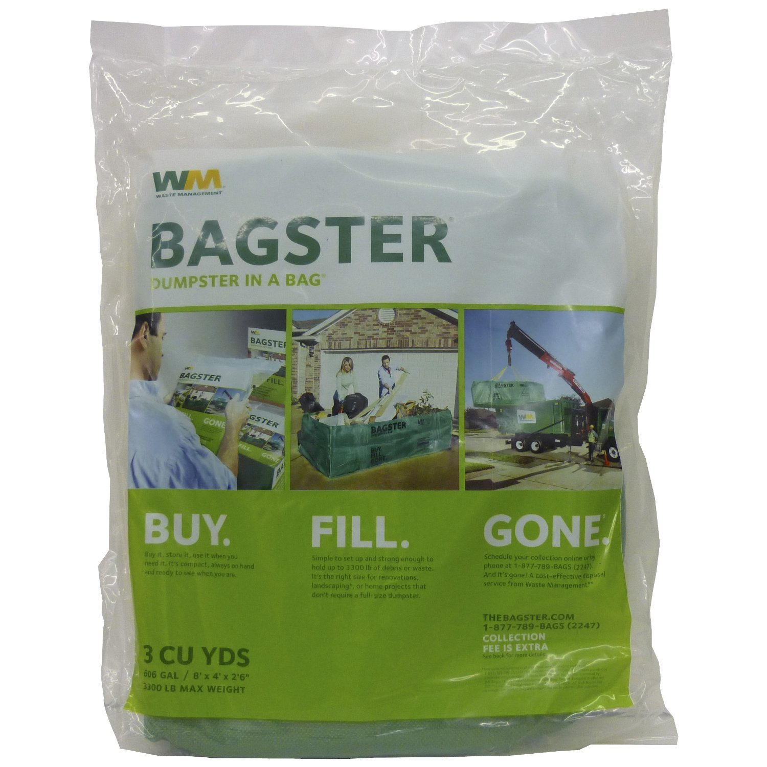 Review of the Bagster Bag from Waste Management - What's ...