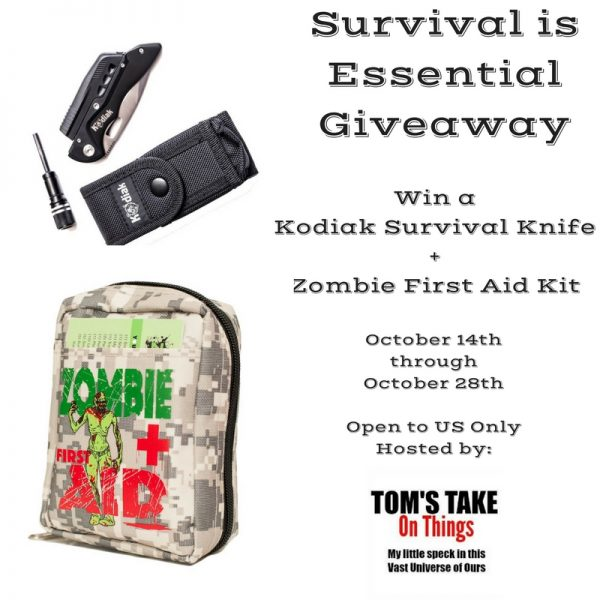 Survival is Essential Giveaway - First Aid Kit and more to win!